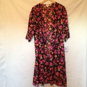 NWT LuLaRoe Shirley Kimono Size M
